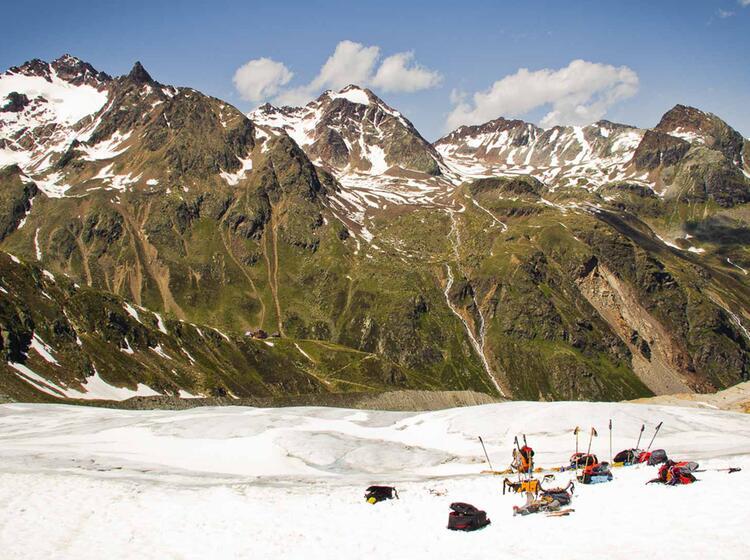Gletscherkurs Fuer Einsteiger An Der Wildspitze