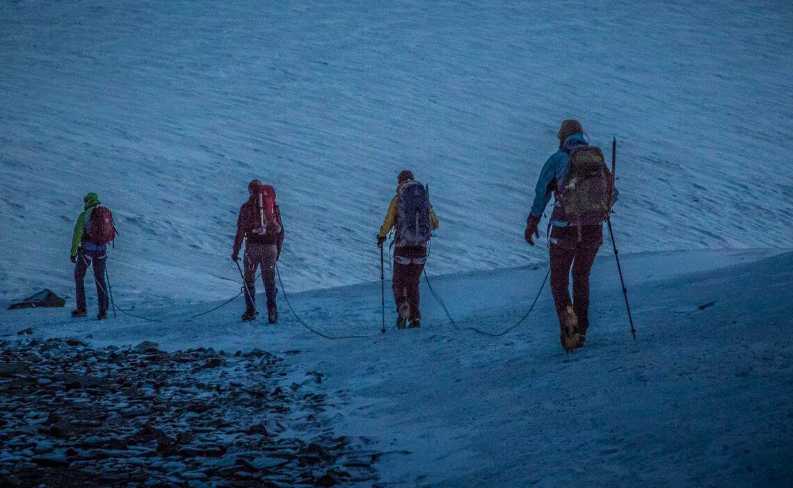 Gletschertour Mit Bergfuehrer Am Weissmies