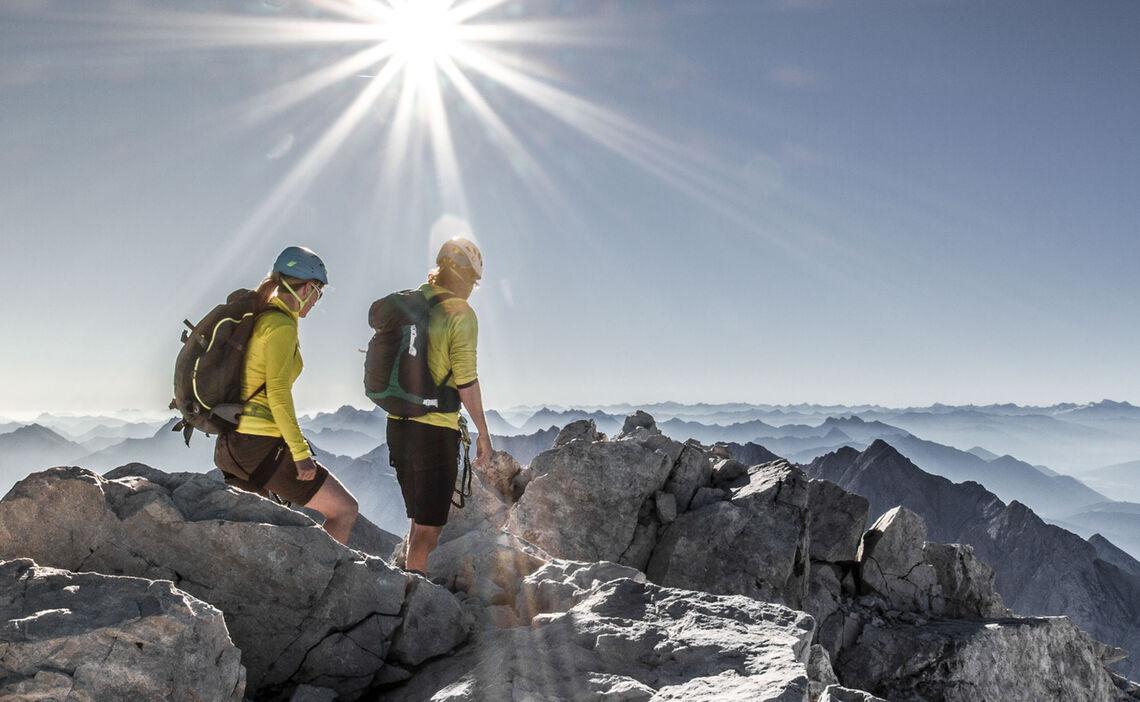 Grat Klettersteig Und Bergtour Jubilaeumsgrat