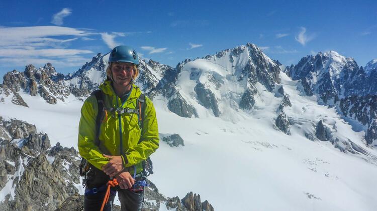 Gut Vorbereitet Auf Den Mont Blanc Mit Dem Bergfuehrer Alexander Kleinheinz