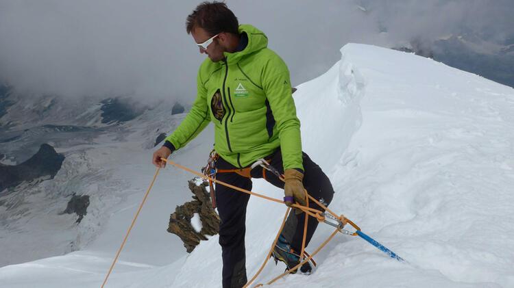 Hochtouren Fuehrung Zum Mont Blanc Mit Bergfuehrer Nils Beste