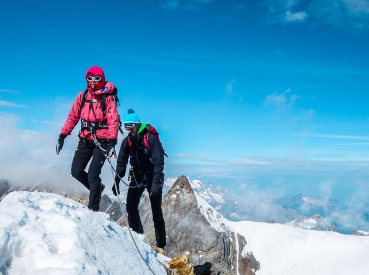 Hochtourenkurse Mit Bergfuehrer In Der Schweiz