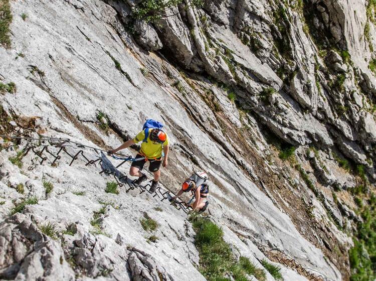Hoellental Klettersteig Zur Zugspitze