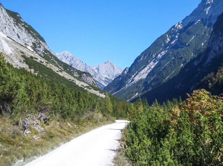 Karwendel Mountainbike Am Alpencross