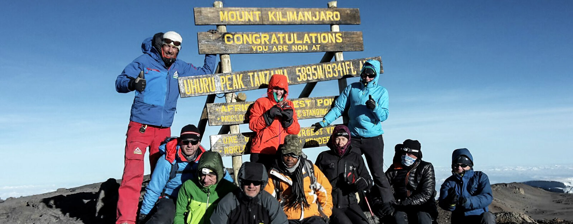 Kilimanjaro Gipfel