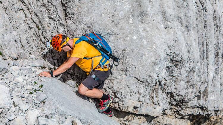 Kletterei Mit Bergfuehrer In Der Hochwanner Nordwand