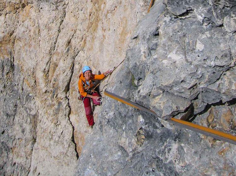 Kletterfuehrung Dolomiten