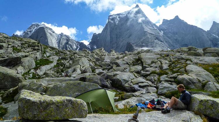 Kletterfuehrung Mit Bergfuehrer Alexander Kleinheinz