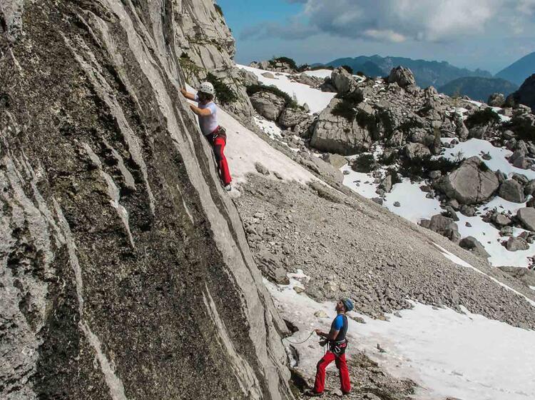 Kletterkurs Fuer Einsteiger Und Fortgeschrittene