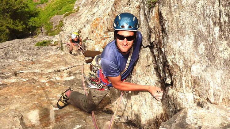 Kletterkurs Mit Bergfuehrer Tobias Stampfl