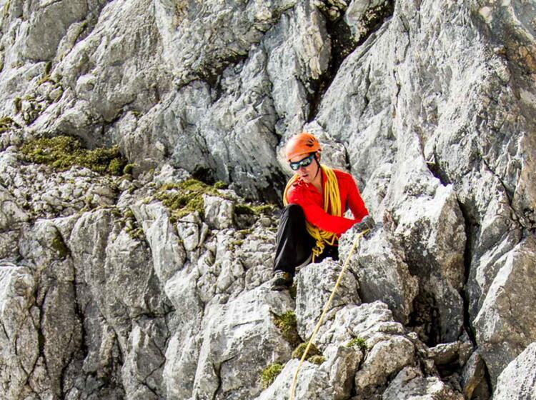Kletterkurs Sichern Lernen In Garmisch