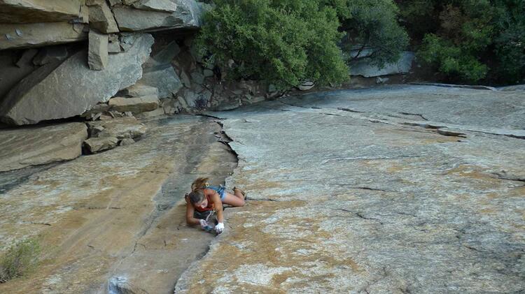 Kletterkurse Mit Bergfuehrerin Charlotte Gild