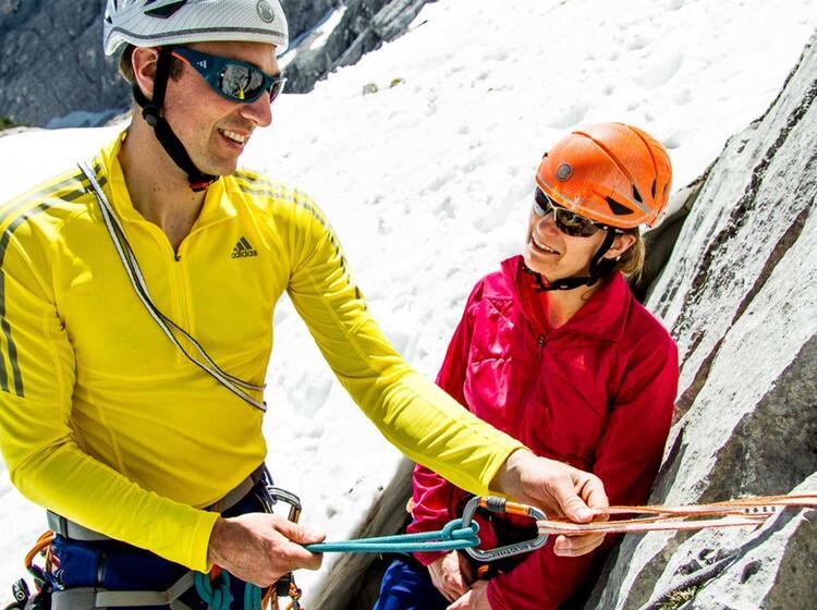 Kletterkurse Rund Um Die Zugspitze In Garmisch