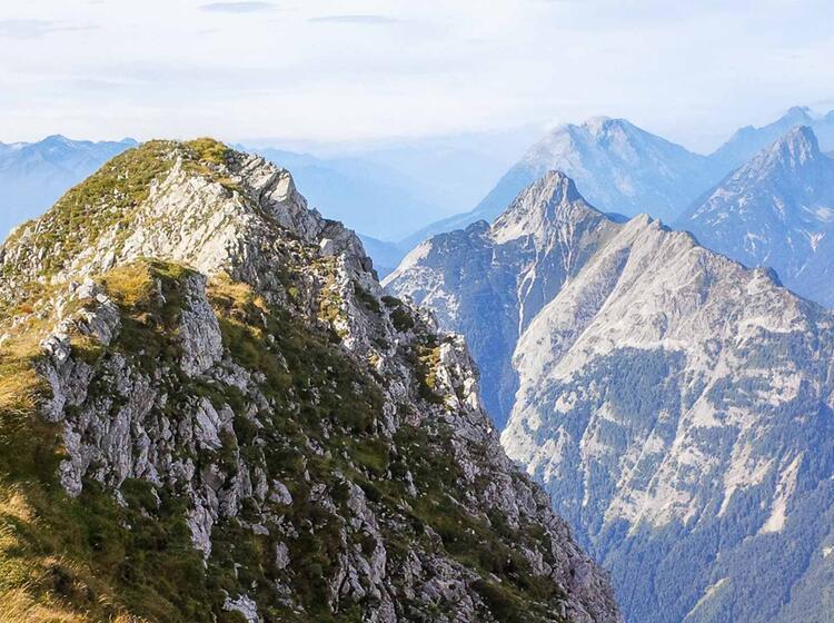 Klettern Am Mittenwalder Hoehenweg