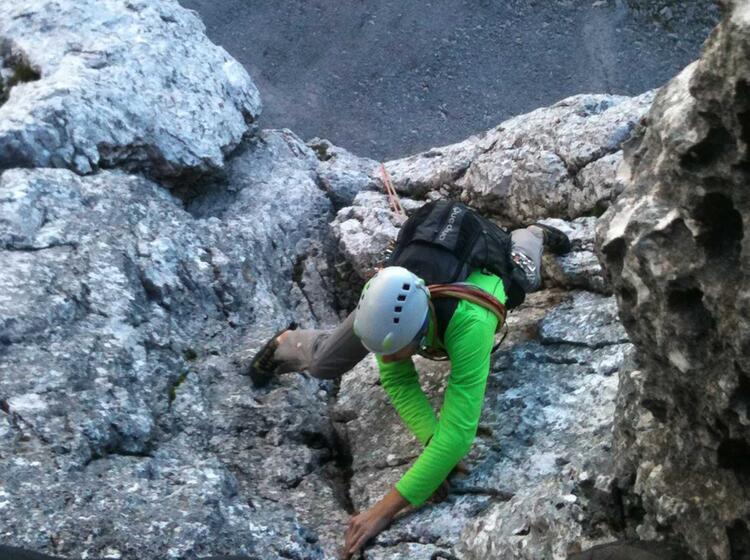 Klettern Am Waxenstein Mit Bergfuehrer