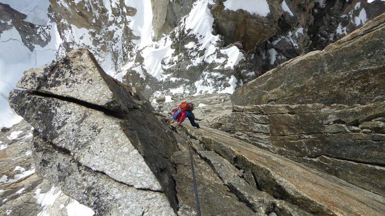 Klettern In Chamonix Mit Bergfuehrer Charlotte Gild