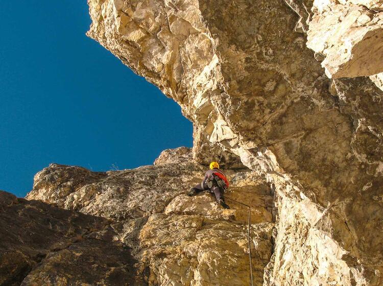 Klettern In Den Dolomiten Mit Bergfuehrer