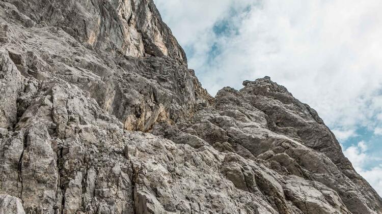 Klettern In Der Hochwanner Nordwand Mit Bergfuehrer