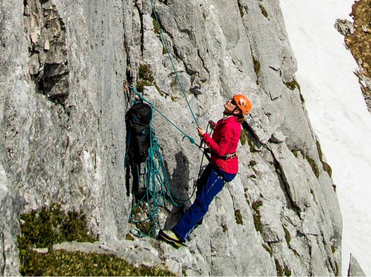 Klettern Lernen