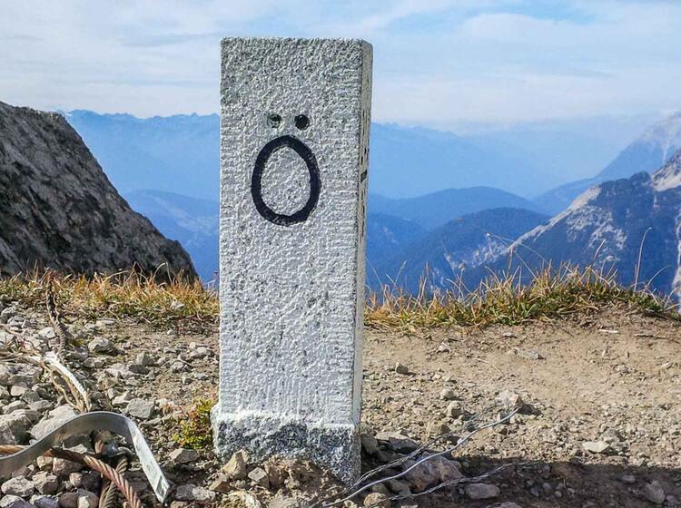Klettersteig Auf Der Grenze Am Mittenwalder Hoehenweg