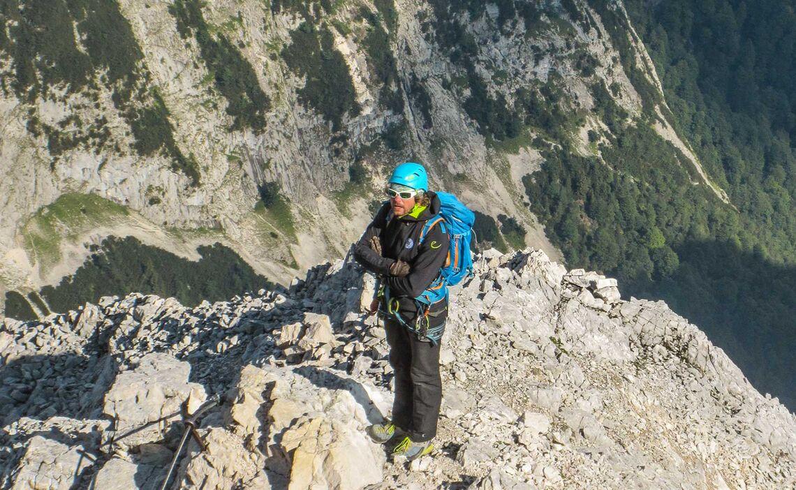 Klettersteig Fuehrung Und Kurs In Garmisch