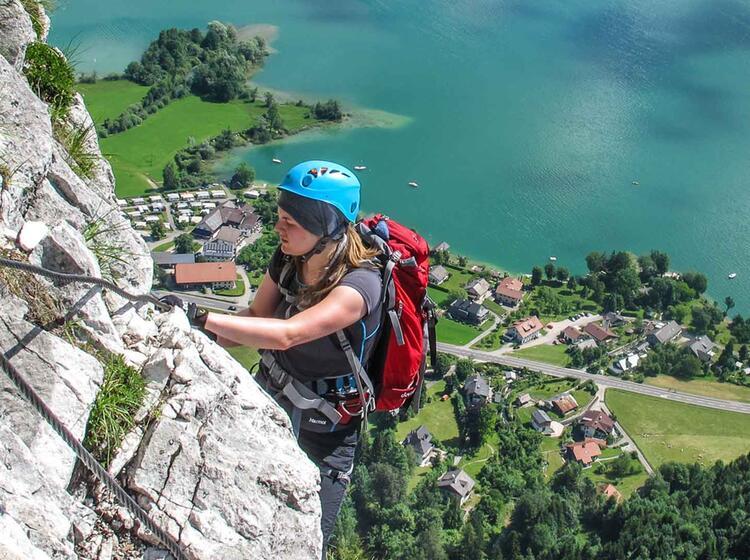 Klettersteig Gardasee Gefuehrt