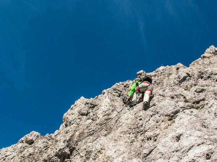 Klettersteig Gehen Lernen Am Klettersteigkurs Am Gardasee