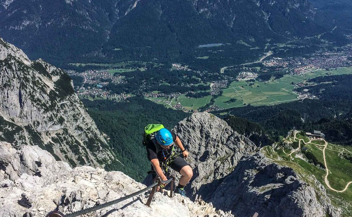Klettersteig Gehen Lernen An Einem Tag