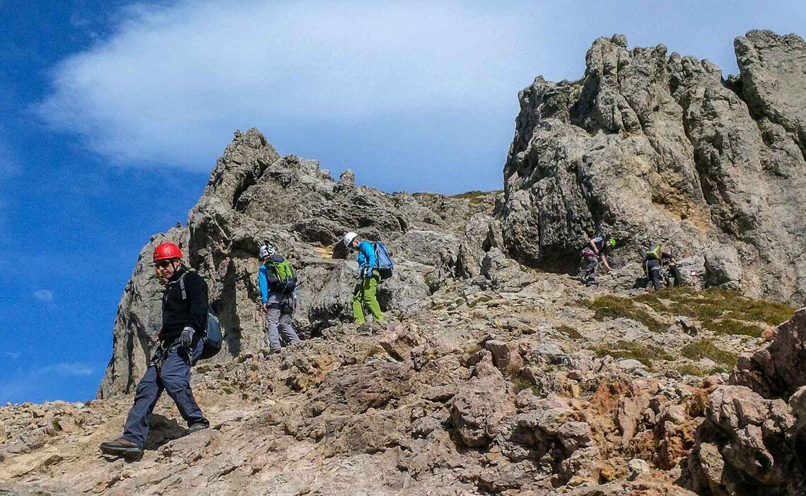 Klettersteig Gut Erreichbar Von Muenchen Der Mittenwalder Hoehenweg