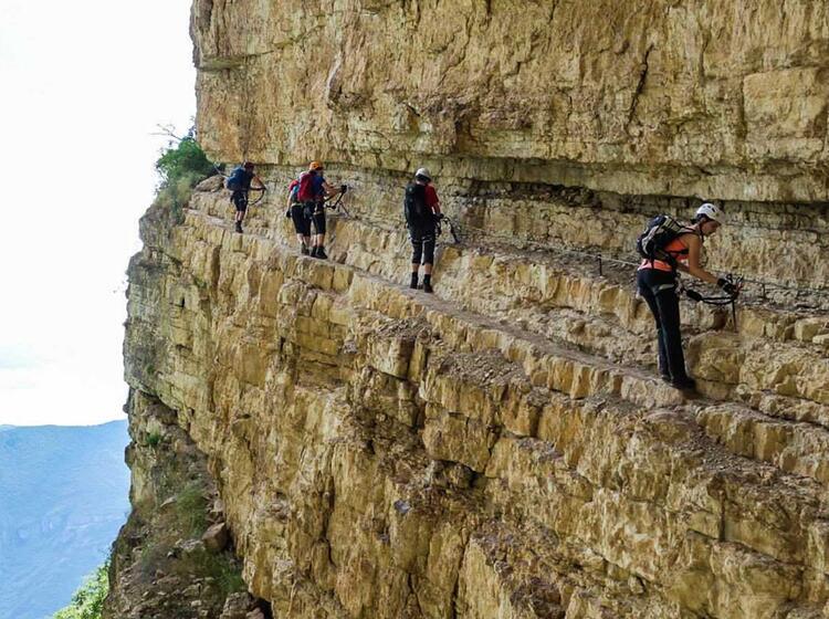 Klettersteig Kurse Am Gardasee