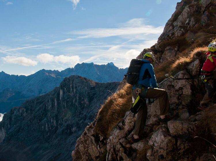 Klettersteig Kurse Mit Kinder