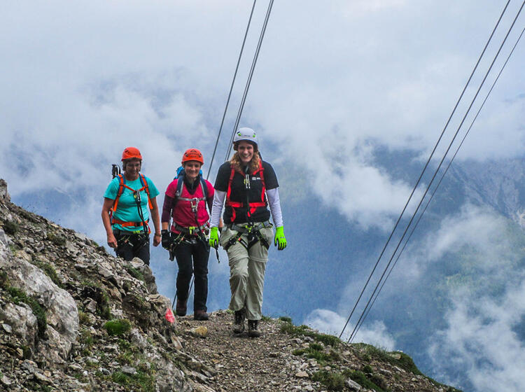 Klettersteig Stopselzieher Auf Die Zugspitze