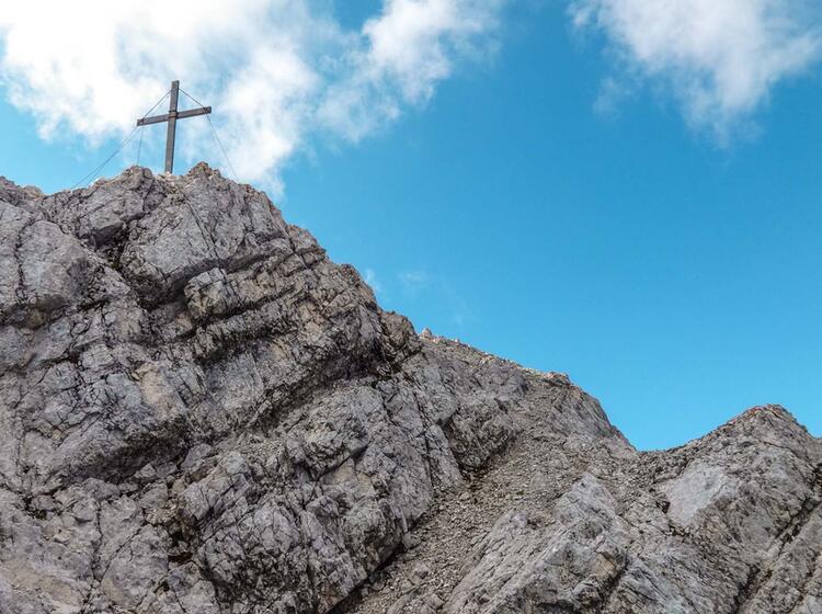 Klettersteig Via Ferrata An Der Alpsitze Mit Bergfuehrer