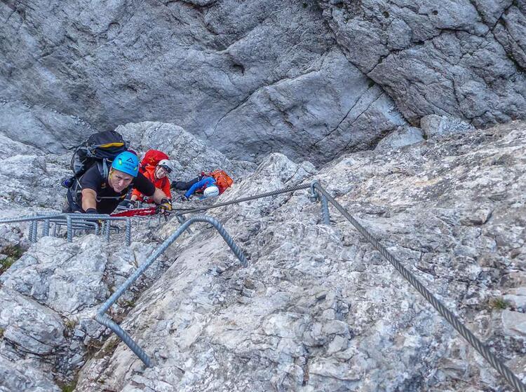Klettersteig Woche Dolomiten Cortina D Ampezzo
