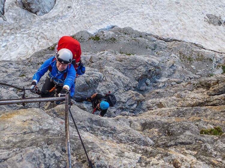 Klettersteig Woche Dolomiten