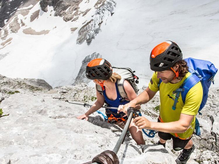 Klettersteig Zur Zugspitze 1