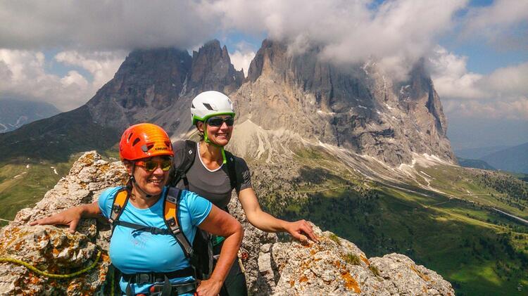 Klettersteige In Cortina In Den Dolomiten