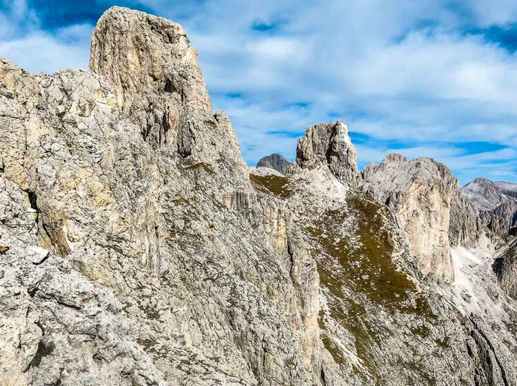 Klettersteige In Den Dolomiten Gefuehrt