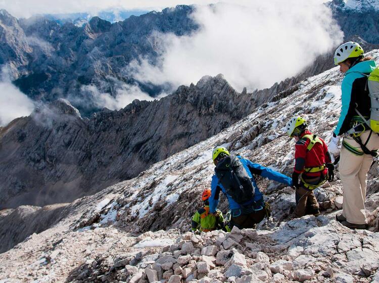 Klettersteigkurs Alpspitze In Garmisch