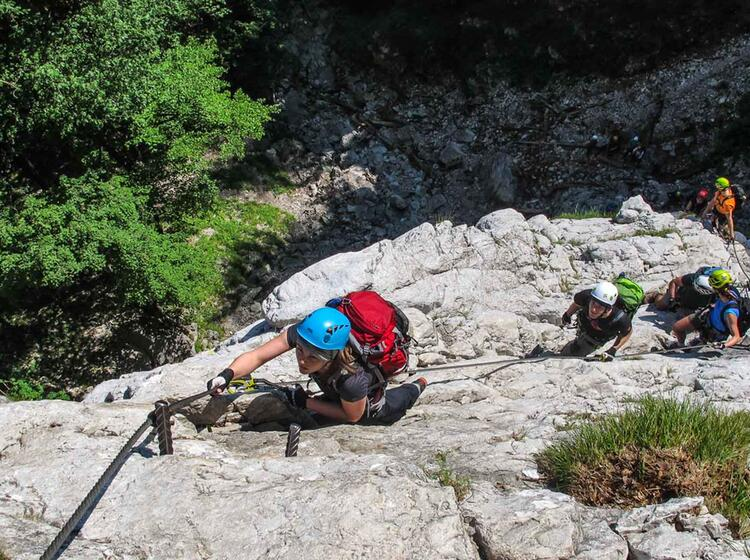 Klettersteigkurs Berchtesgaden