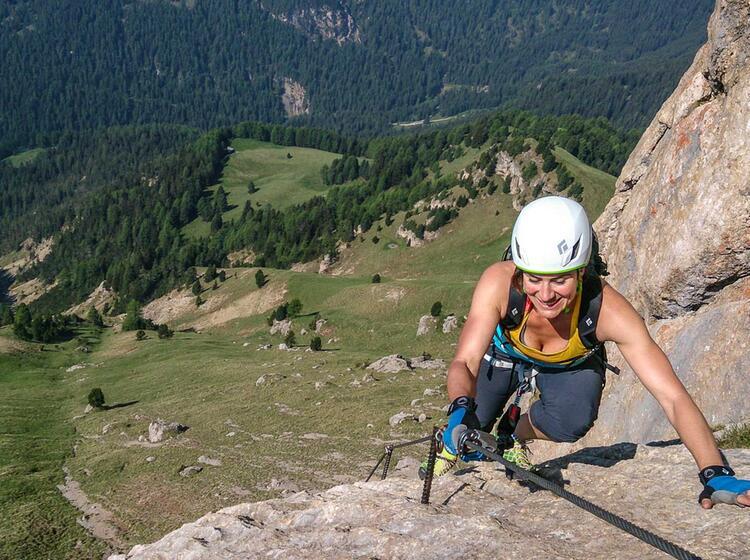 Klettersteigkurs Dolomiten