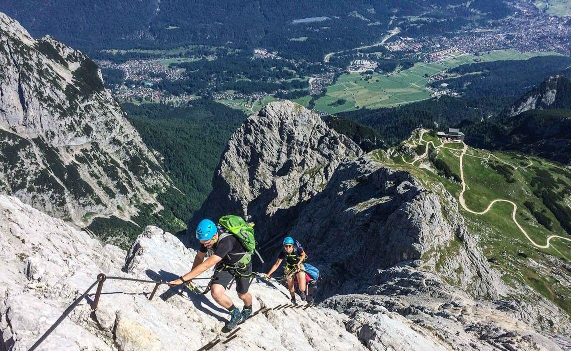 Klettersteigkurs Tageskurs Fuer Einsteiger