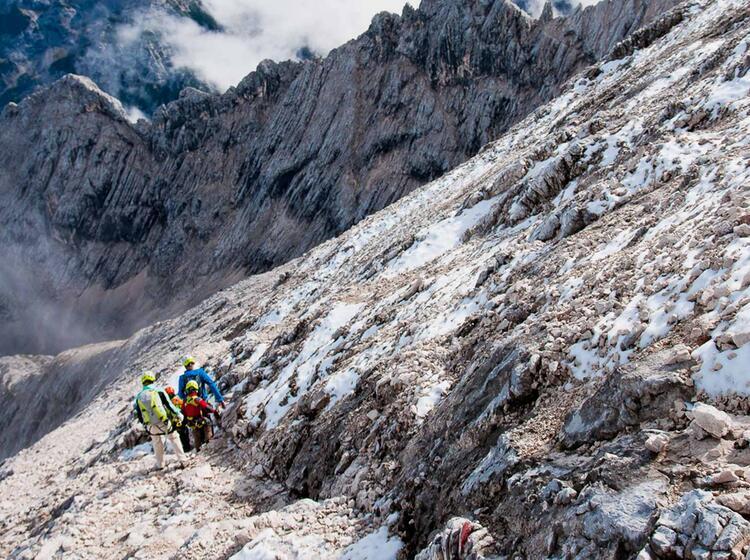 Klettersteigkurse An Der Alpspitze
