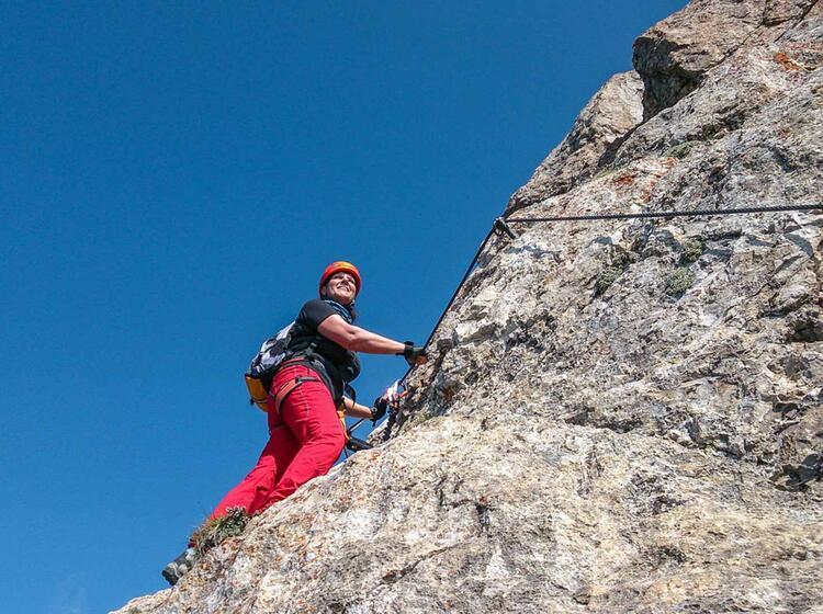 Klettersteigreise Dolomiten
