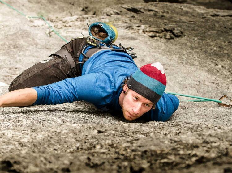 Klettertechnik Lernen Am Kletterkurs Muenchen