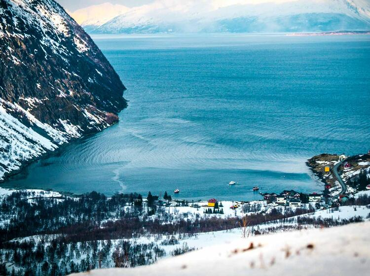 Koppangen Unser Stu Tzpunkt Fu R Skitouren In Norwegen Im Lyngenfjord