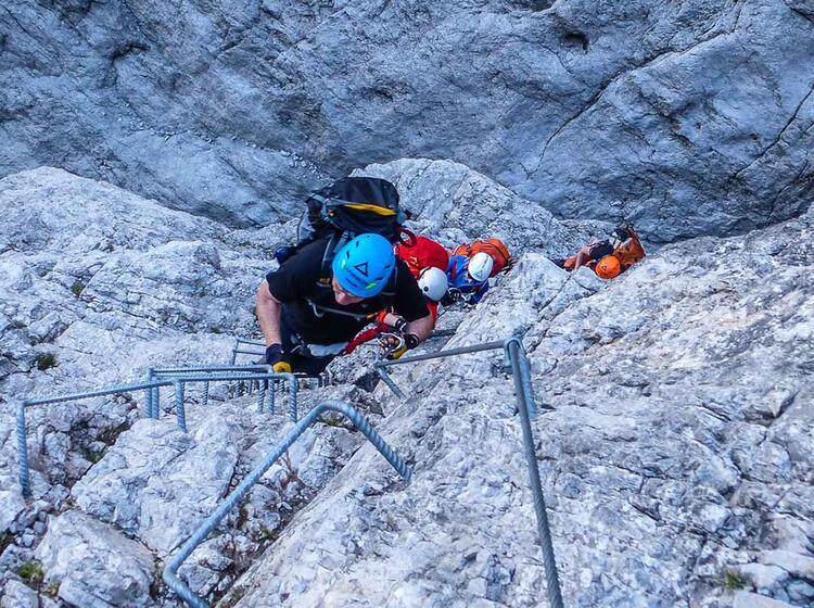 Kurs Fuer Klettersteige Am Gardasee