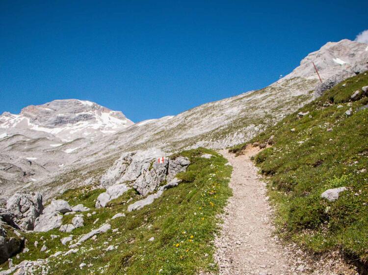 Kurz Vor Dem Zugspitz Platt Auf Dem Weg Der Erstbegeher Zur Zugspitze