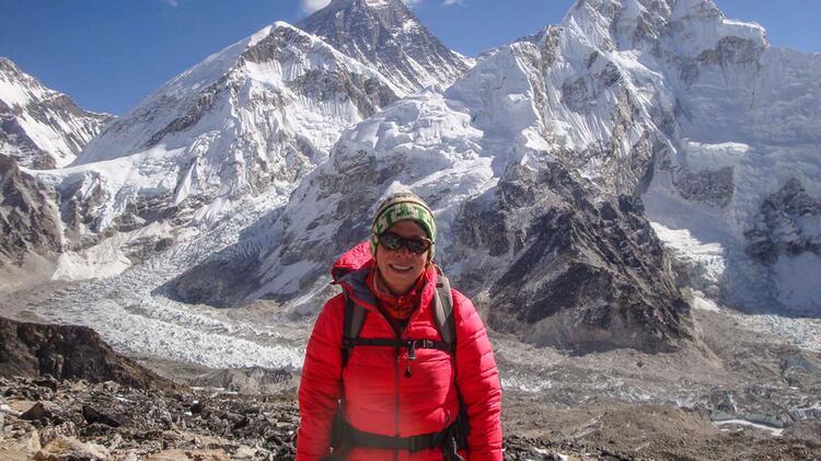 Maria Ist Gepruefte Bergwanderfuehrerin Und Expeditionsaerztin