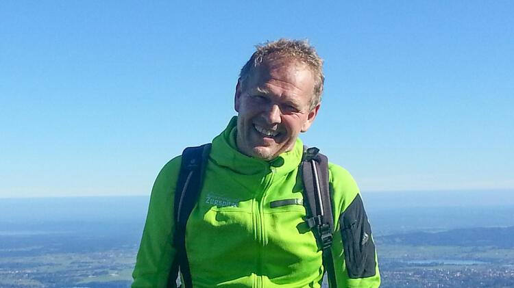 Martin Werner Ist Bergwanderfuehrer An Der Zugspitze